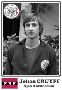 Johan CRUYFF - Ajax Amsterdam